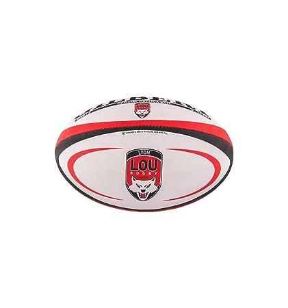 Gilbert Ballon de Rugby Lyon (Taille 5): Amazon.es: Deportes y ...