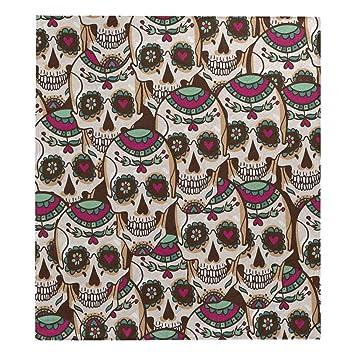 Amazon.com: InterestPrint Seashells - Colcha de algodón para ...