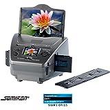 Somikon PX-8299-906 Fotoscanner 3in1-Dia Foto und Negativ-Scanner SD-1400 mit 14-MP-Sensor (Photo Scanner)