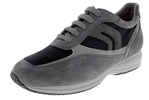 Geox Men's U Damian B Low Top Sneakers: Amazon.co.uk: Shoes