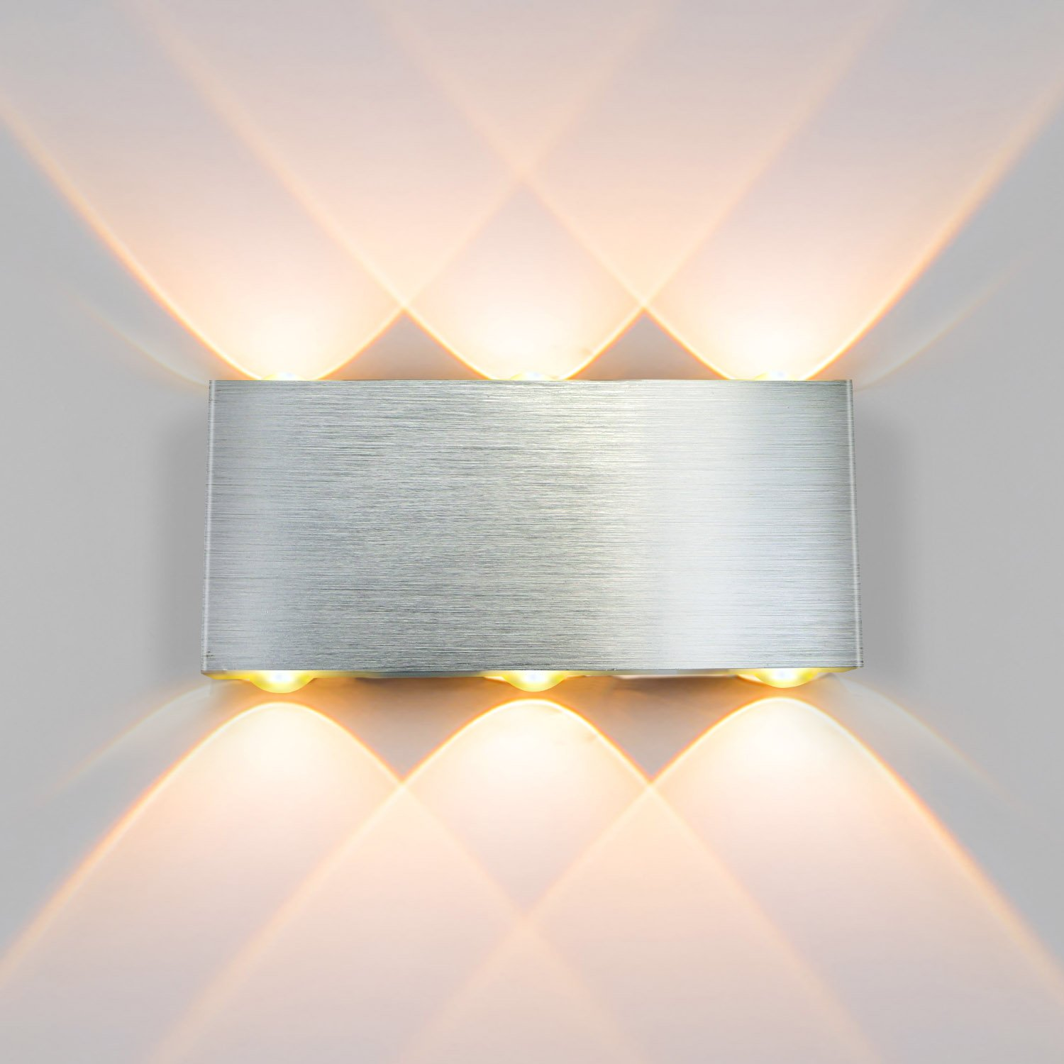 Estela LED Wall Lamp, 8W Dimmable LED Aluminum Waterproof Wall Mounted Lamp, Adjustable Outdoor Wall Light, 3000k Warm White Ruinuode Direct