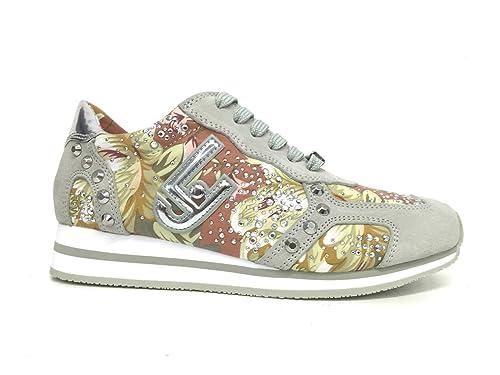 liu jo - Zapatillas de Lona para Mujer Fantasia Fiori: Amazon.es: Zapatos y complementos