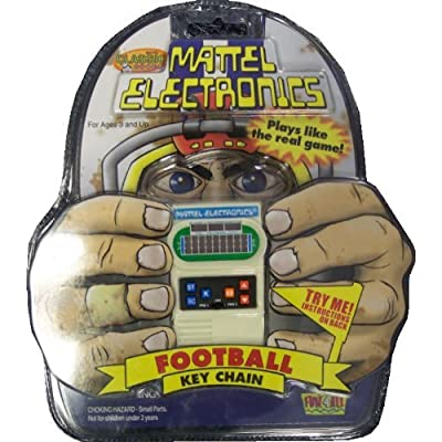 Mattel Electronics Football Key Chain: Toys & Games