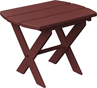 product image for Poly Folding End Table - Cherry Wood