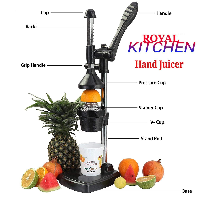 Buy ROYAL WORLD Aluminium Hand Press Juicer (Black) Online