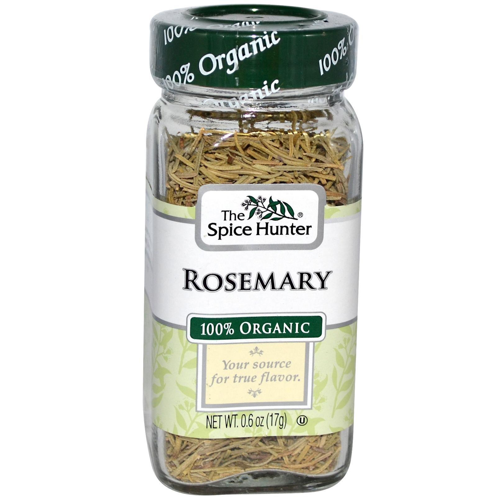 Spice Hunter Rosemary Whole Organic, 0.6 oz