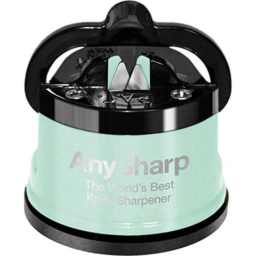 103 opinioni per Anysharp Affilacoltelli Pro Metal Con Ventosa, Lega Di Acciaio, Verde Pastello,