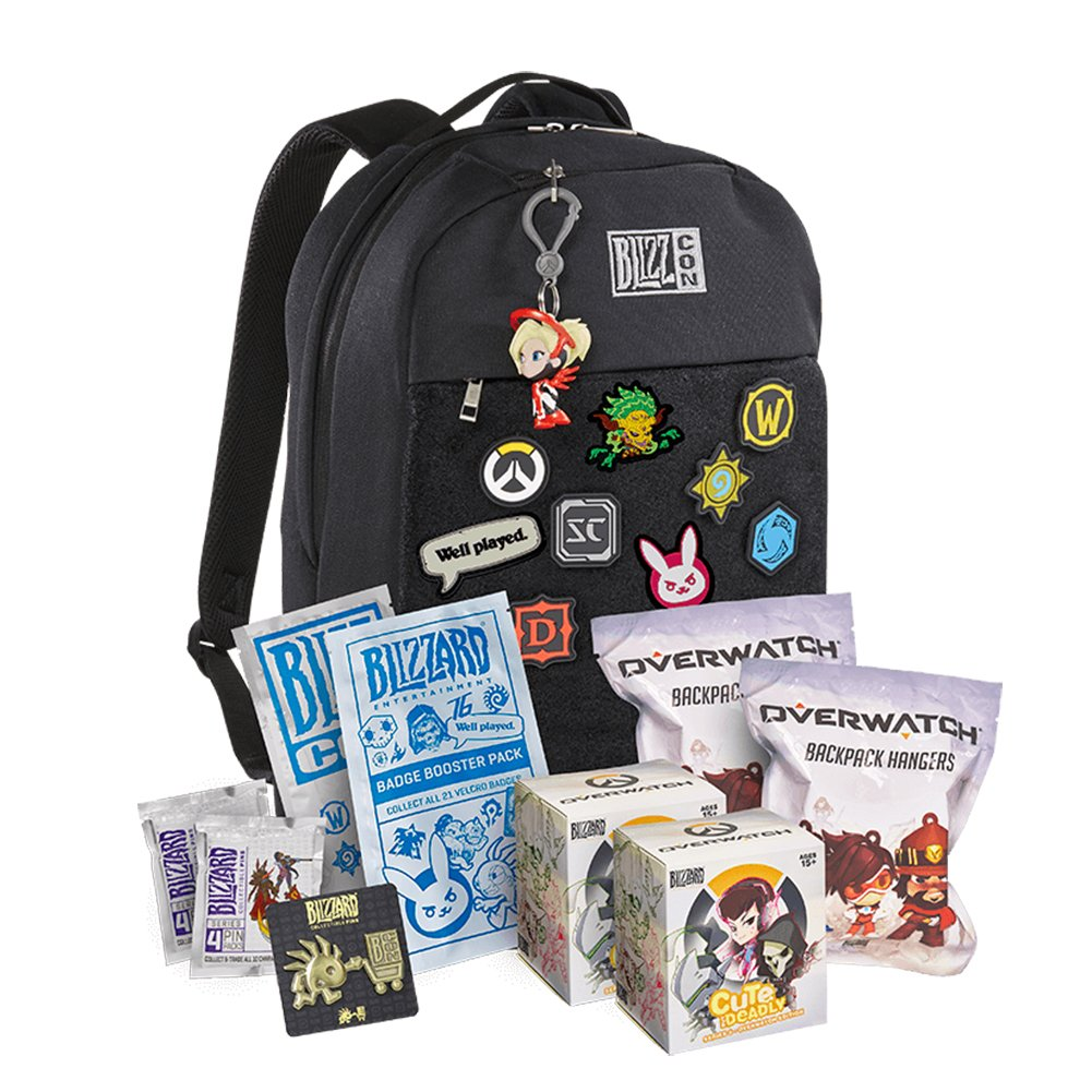 Blizzcon Goody Bag Backpack | Limited Edition Exclusive (2017) by Overwatch (Image #1)
