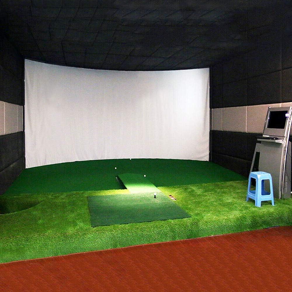Color Tree - Pantalla para proyector de simulador de golf (300 x ...
