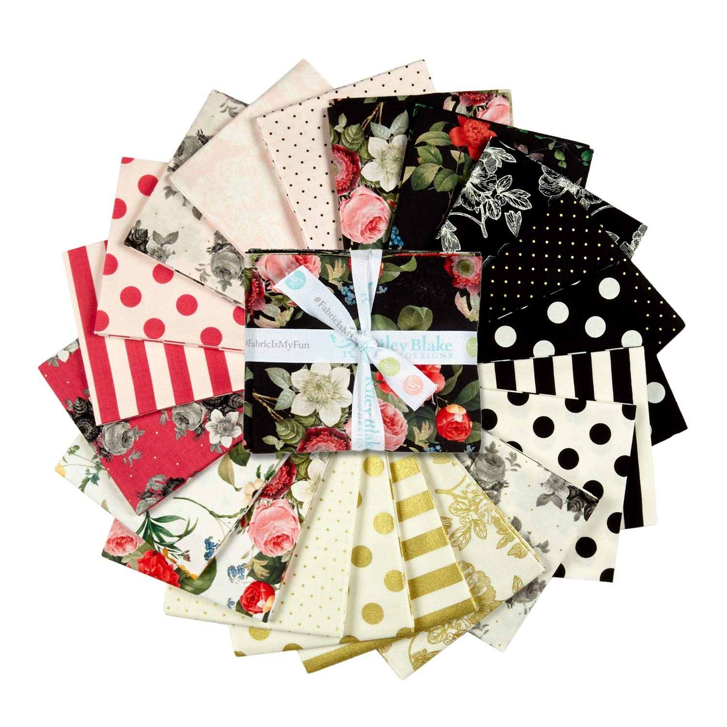 Riley Blake Designs In Bloom Fat Quarter Bundle Multi by Riley Blake Designs (Image #1)