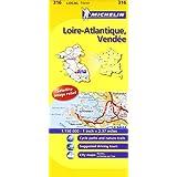 Loire-Atlantique, Vendee Michelin Local Map 316 (Michelin Local Maps)