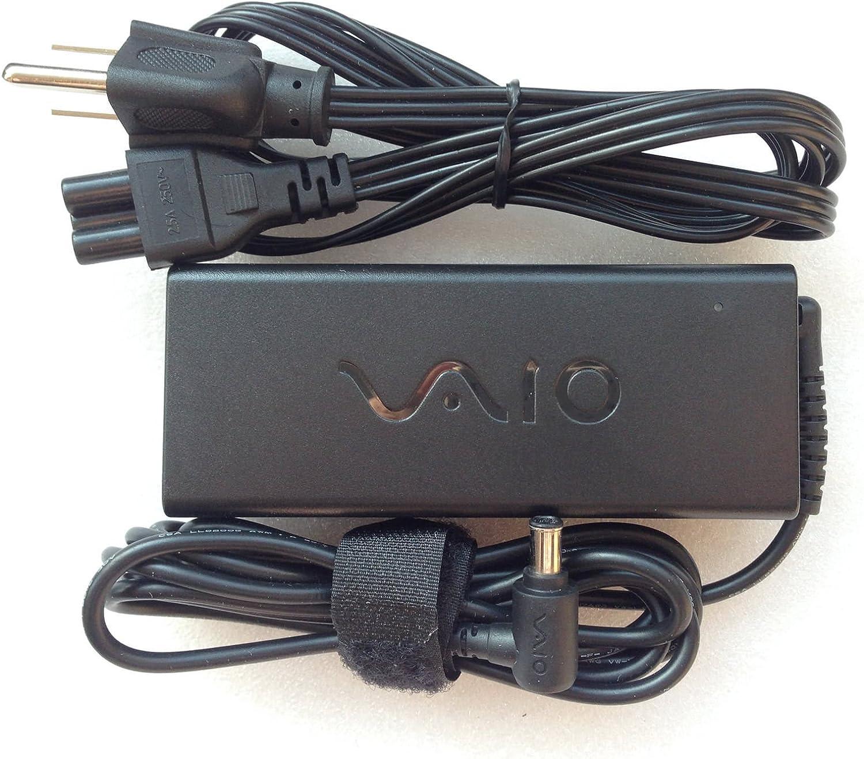 Sony Original VAIO 19.5V 4.7A 90W AC Adapter for Sony VAIO Series: Sony VAIO VGNZ898H, VGNZ898H/X, VGNZ899GAB, VGNZ899GBB, VGNZ899GCB, VGNZ899GPB, ...