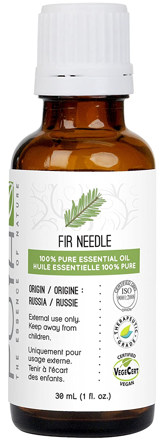Fir Needle Essential Oil 30 ml (1 fl. Oz.) - GCMS Tested, 100% Pure, Undiluted and Therapeutic Grade Poya Marketing Ltd