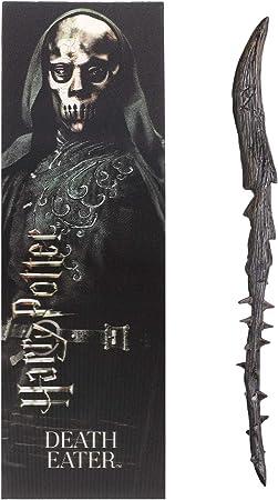 Varita de PVC The Eble Collection Death Eater (Thorn) y Marcador prismático