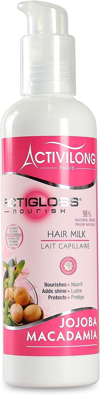 Activilong Actigloss Nourish Bálsamo capilar nutritivo Macadamia/Jojoba 240 ml