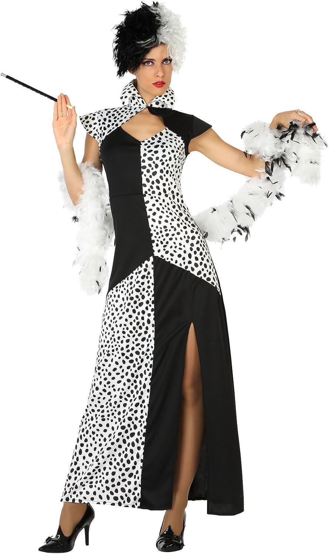 Atosa 18245 – Cruella, para mujer Disfraz, tamaño XL, 42/44 ...