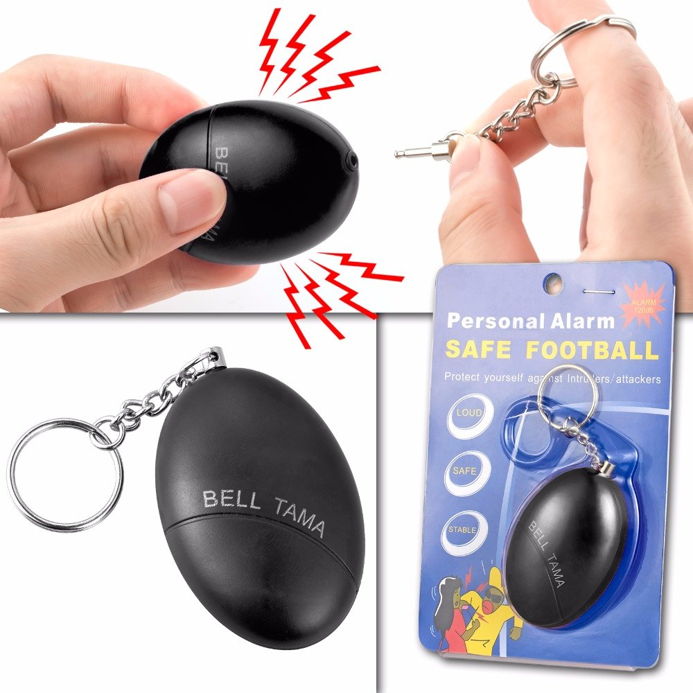 Alarma de seguridad personal de Bell Tama simple y f/ácil de usar.