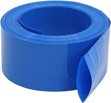 5Pcs 18650 Battery Wraps Insulator PVC Plastic Shrink Sleeve Case Heat Shrink NI