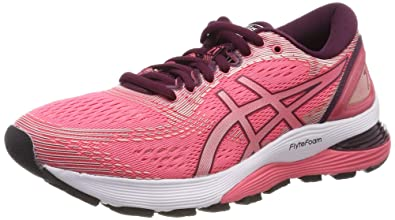 ae15450d9c25 Image Unavailable. Image not available for. Color  Asics Gel Nimbus 21  Womens Running Shoes ...