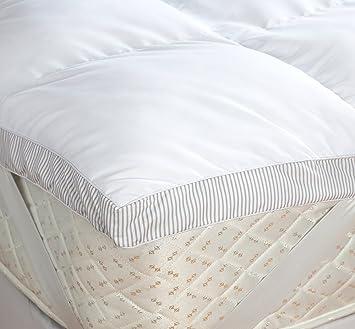 linge de lit paoletti Surmatelas en Microfibre pour Lit King Size   Paoletti: Amazon.fr  linge de lit paoletti