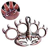 Finger Ring, Fansport Survival Tool Portable Multifunctional Retro Scorpion Skull Dragon Shaped Ring Tool