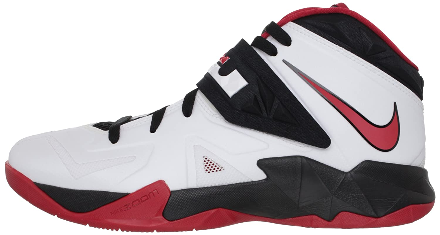 417d85355b1a NIKE Zoom Soldier VII - 599264 100 - White White Size  10.5  Amazon.co.uk   Shoes   Bags