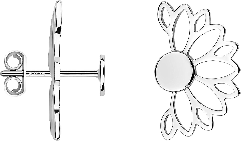 SOFIA MILANI Boucles dOreilles Femme Fleurs Lotus 925 Argent 20631