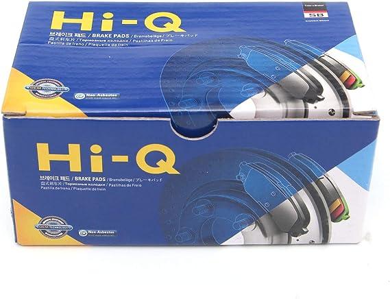 Sangsin Brake Hi-Q SP1905 Compatible with Hyundai Elantra Brake Pad Front 4Pcs-1Set