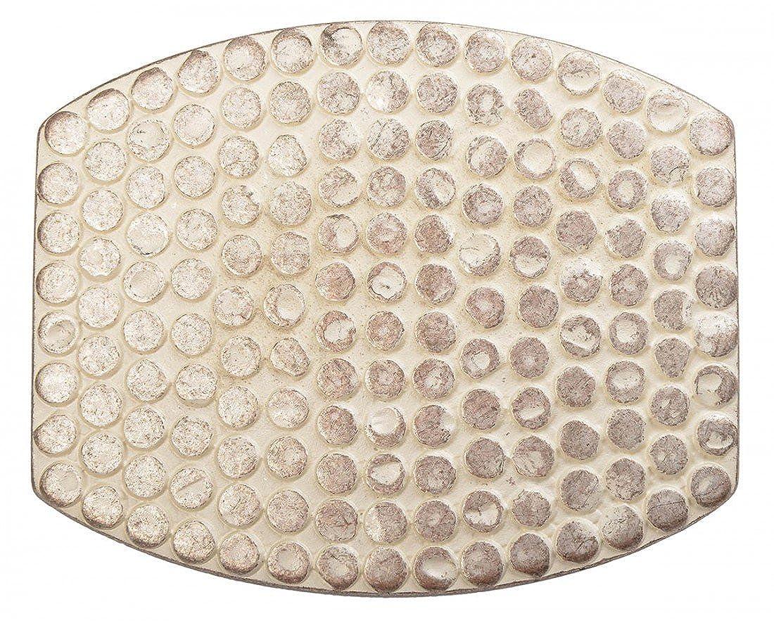 Gürtelschnalle mit Relief - Hell Pointierte Oberfläche - Wechselschliesse in edlem Design als besonderes Geschenk