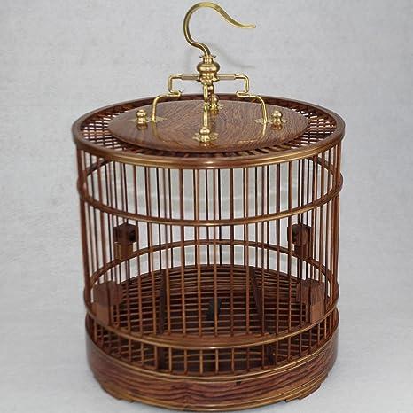 Pet Online En forma de jaula de madera maciza de palisandro, la ...