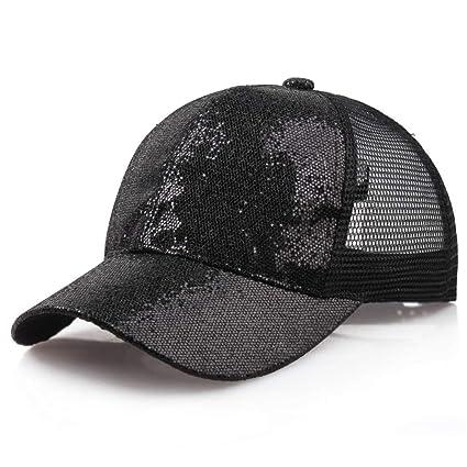 Amazon.com  Sale! Teresamoon Women Girl Ponytail Baseball Cap ... c88c01bef93