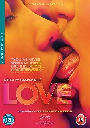Amazon com: Love DVD: Gaspar Noe, Aomi Muyock, Karl Glusman, Klara