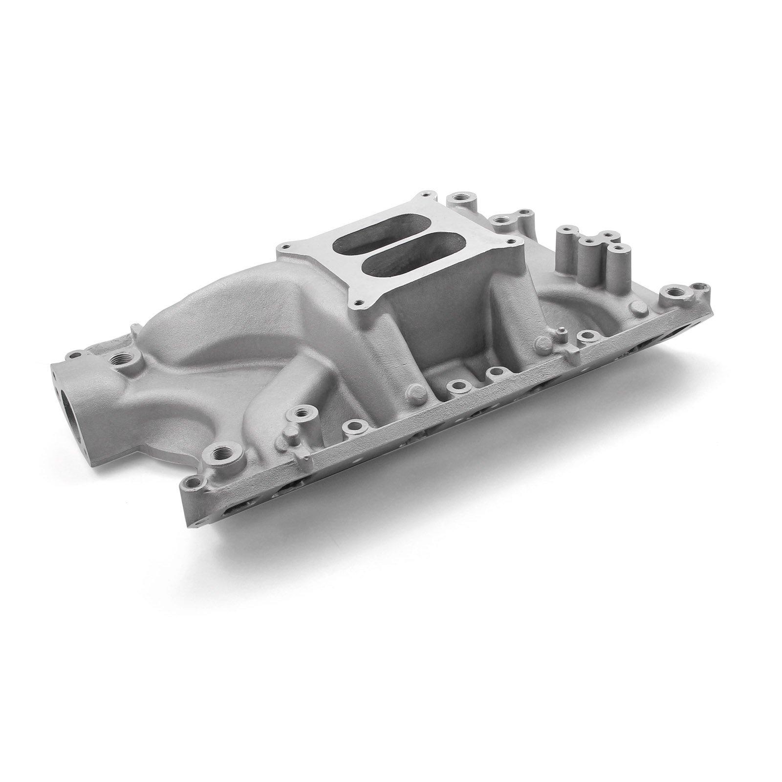 Speedmaster PCE147.1045 Qualifier Intake Manifolds, Carbureted by Speedmaster