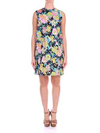 1d0151950686 Image Unavailable. Image not available for. Color  MSGM Women s  2441Mda3018415099 Multicolor Viscose Dress