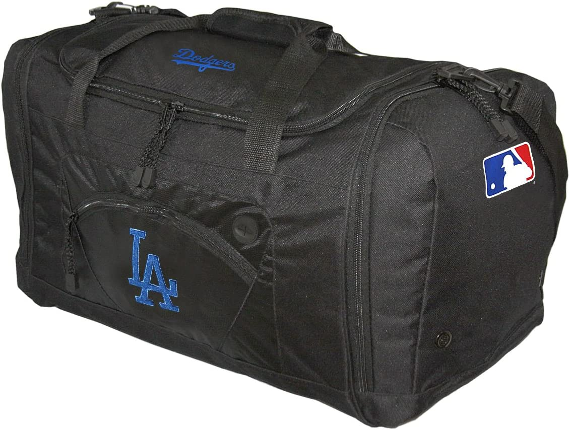 "MLB Los Angeles Dodgers ""Roadblock"" Duffel, 20"" x 11.5"" x 13"" : Sports Fan Bags : Sports & Outdoors"