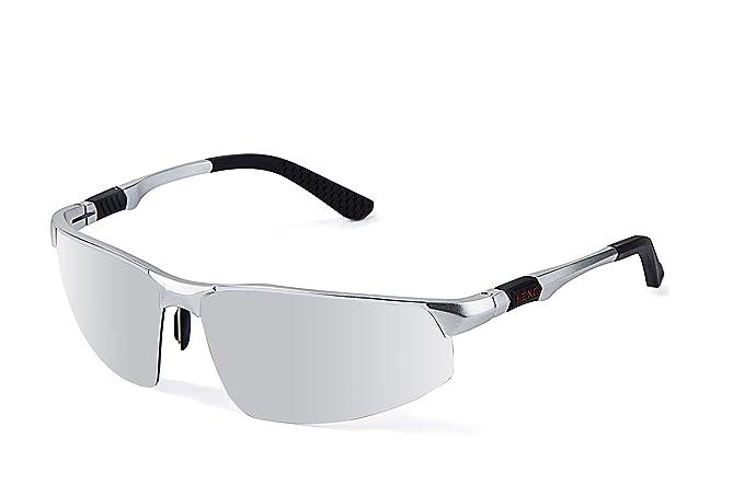 LZXC Gafas De Sol Polarizadas Deportivas Gafas De Hombre Conduciendo Fuentes Al Aire Libre Bisagra De Incendio AL-MG Gafas De: Amazon.es: Ropa y accesorios