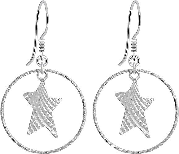 Noble ohrhänger plata 925-oro plata-goldohrhänger-aretes mate