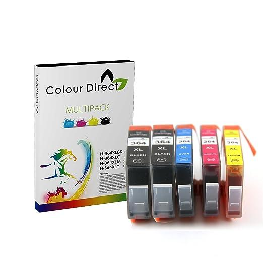 166 opinioni per Colour Direct 5X 364XL Compatibile Cartucce d'inchiostro Sostituzione Per HP