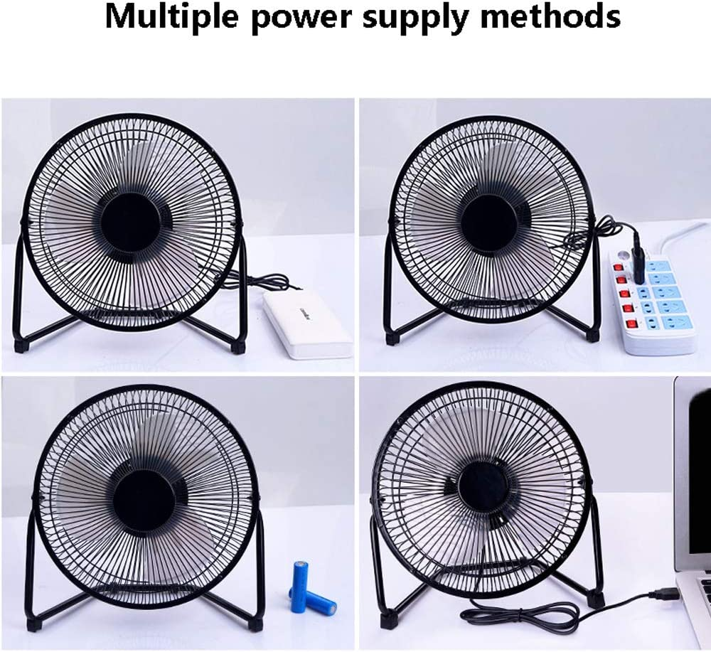 MDYYD Mini USB Table Desk Personal Fan Fan Handheld with USB Rechargeable Battery Operated Cooling Electric Fan for Office Room Outdoor Strong Wind,Quiet Operation,for Home Office.