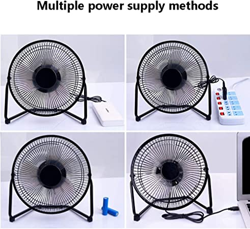Jajx-comac USB Personal Desk Fan Small Handheld Fan Mini Portable USB Fan Rechargeable Battery Powered Fan for Home Party Office Bedroom and Outdoor Travel for Home Office Table Color : Blue
