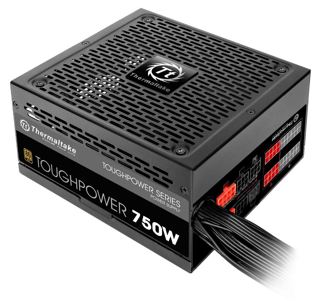 Thermaltake ToughPower 750W 80 Plus Gold Semi Modular Power Supply PS-TPD-0750MPCGUS-1