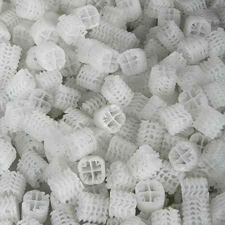 Hel-x 17 kll weiß 25 Liter Hochwertiges Filtermaterial Koi Teich Biofilter