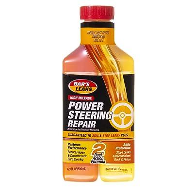 Bar's Leaks 1600 Power Steering Repair - 16 oz.,Brown: Automotive