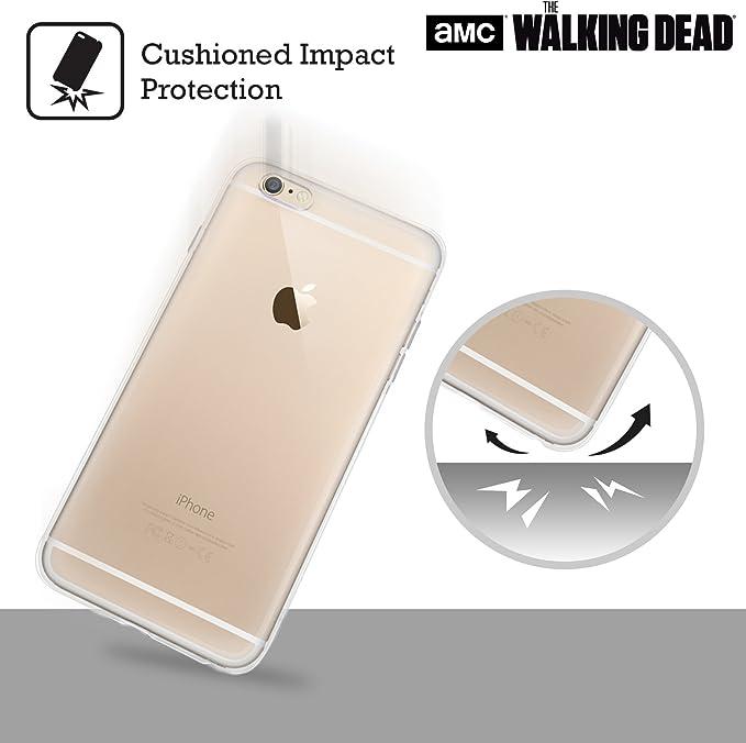 Officiel AMC The Walking Dead Carl Portraits Filtrés Coque en Gel molle pour iPhone 6