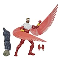 Hasbro Marvel Legends Series 6-inch Collectible Marvel's Falcon Action Figure Toy, Ages 4 and Up