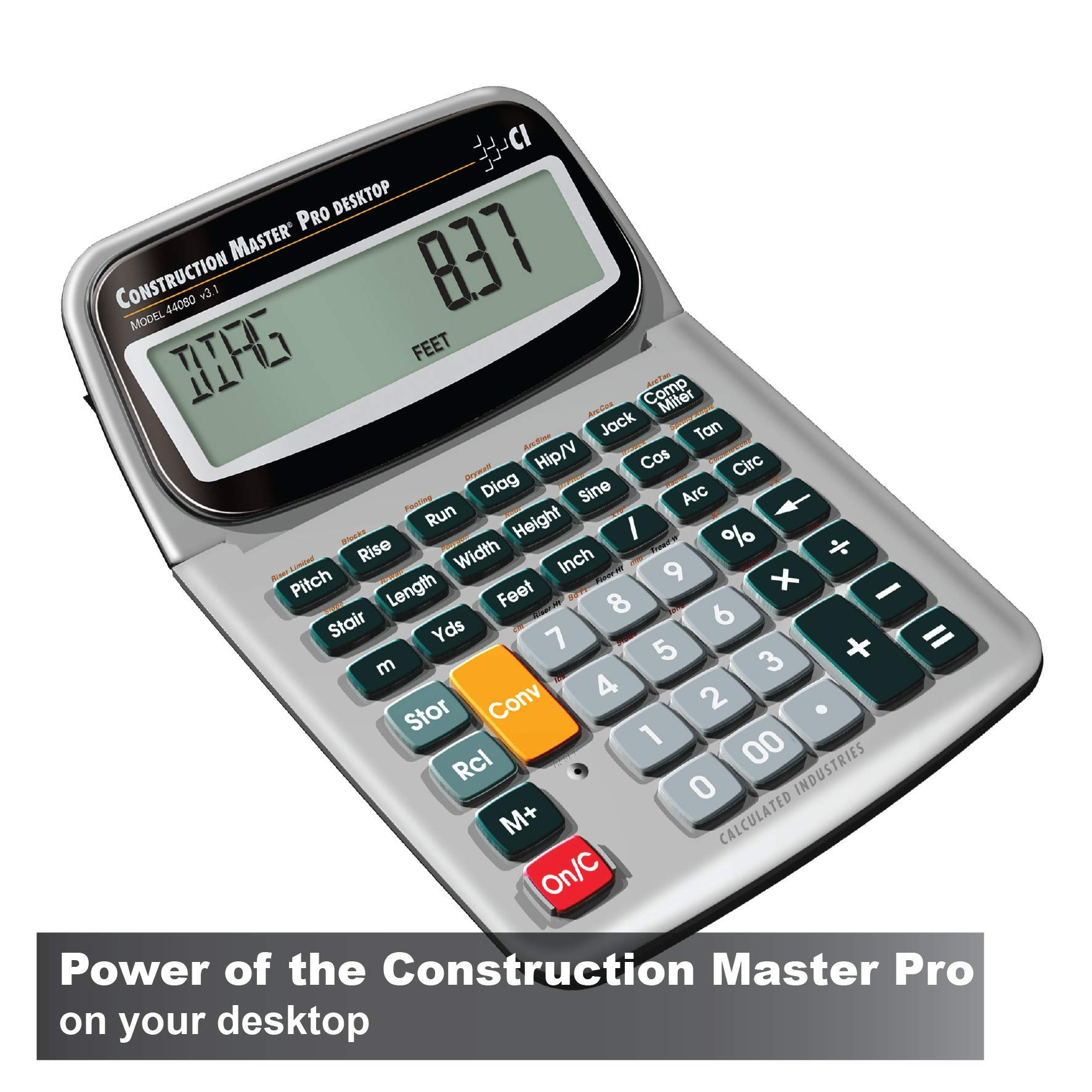 Calculated Industries 44080 Construction Master Pro Construction Calculator by Calculated Industries