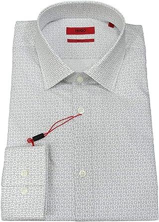 HUGO BOSS LINEA HUGO - Camisa casual - para hombre Vedi Foto 41: Amazon.es: Ropa y accesorios