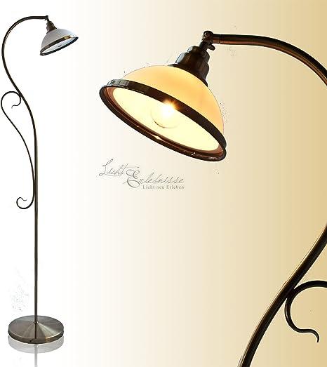 Preciosa Lámpara de Pie de Estilo Art Nouveau/Bronce 2758n: Amazon ...