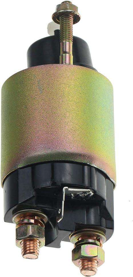 Solarhome New Starter Solenoid 12106-63010 12106-63011 12181-63011 12498-63010 1G023-63010 1G023-63011 67980-31151 E7195-63010 K3511-81410 K3511-81411 for Kubota Mower Lawn Garden Tractor