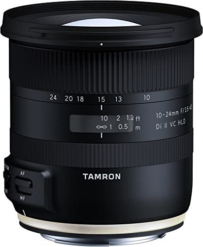 Tamron 10-24mm F/3.5-4.5 Di-II VC HLD Wide Angle Zoom Lens for Canon